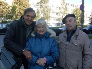 Гебелева, бывший режиссер БТ Павлов и муж сестры Миша