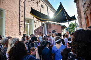 07.06.2018, Бобруйск. Хупа (свадьба) в Бобруйской синагоге