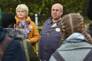 Председатель Бобруйской еврейской общины Олег Красный рассказал о последних часах жизни узников Бобруйского гетто и о людях, создавших мемориал