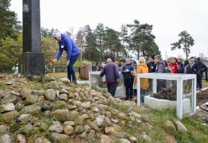 Мемориальная акция в память о жертвах Бобруйского гетто, организованная Бобруйской еврейской общиной при участии Центра туризма, краеведения и экскурсий детей и молодежи города Бобруйска