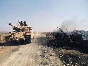 Вона Судного дня. Израильский танк на Голанских высотах